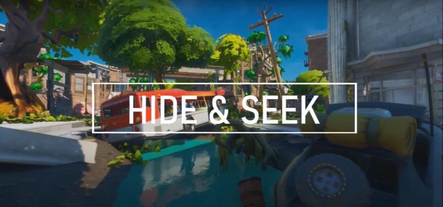 BEST HIDE AND SEEK MAPS IN FORTNITE CODES