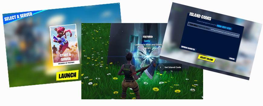 Cómo jugar minijuegos en Fortnite
